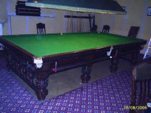 Orme & Sons Snooker Table full size